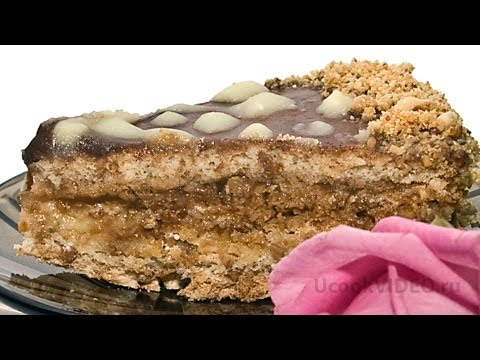 Торт Рахат видео рецепт UcookVideo.ru