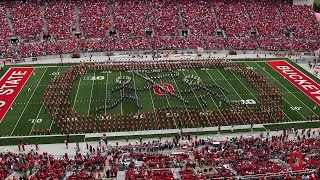 The Ohio State University Marching Band Sept. 13 halftime show: D-Day