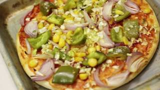 Pizza made at home - Tasty Quick Recipe