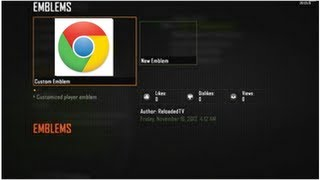 "Black Ops 2 ""Google Chrome"" Emblem Tutorial"