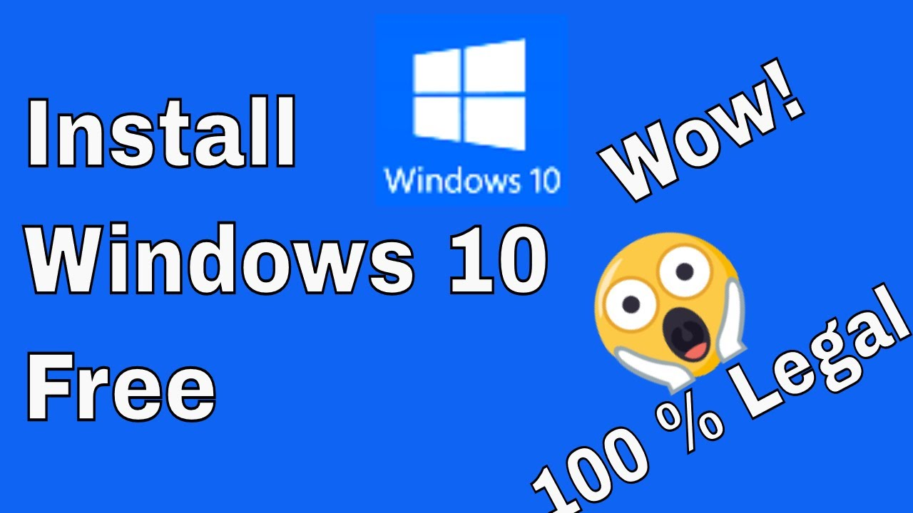 How To Install Windows 10 Free 100 % Legal On Any PC ...