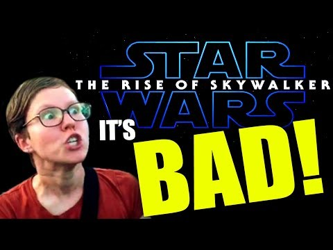 THE RISE OF SKYWALKER IS SO BAD EVEN THE SHILLS HATE IT!