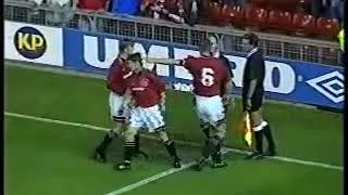 Manchester United 0-3 York City | Coca Cola League Cup 2nd round 1995 | Highlights