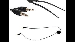 видео Кабель AUX аудио цена