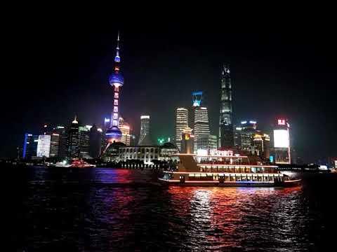 Shanghai the bund time lapse 2018