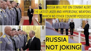 Putin To New Senior Commanders: No Other Country Can Match Russia's Hypersonic & Laser Capabilities!