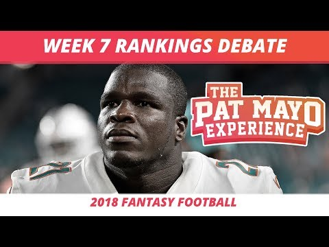2018 Fantasy Football — Week 7 Rankings, Starts, Sits, Sleepers And Busts