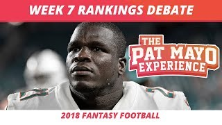2018 Fantasy Football — Week 7 Rankings, Starts, Sits, Sleepers and Busts