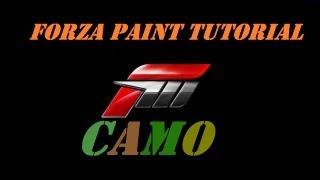 FORZA 4 paint tutorial- Camo