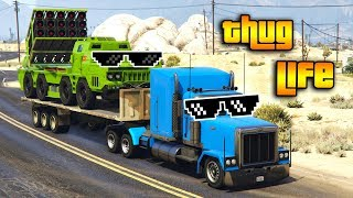 GTA 5 ONLINE : THUG LIFE AND FUNNY MOMENTS (WINS, STUNTS AND FAILS #125)