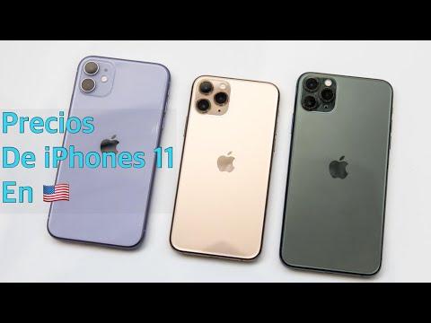 ‼️Cuanto Cuesta El (iPhone 11, 11 Pro Y 11 Pro Max) En EEUU 🇺🇸- Precios De USA‼️