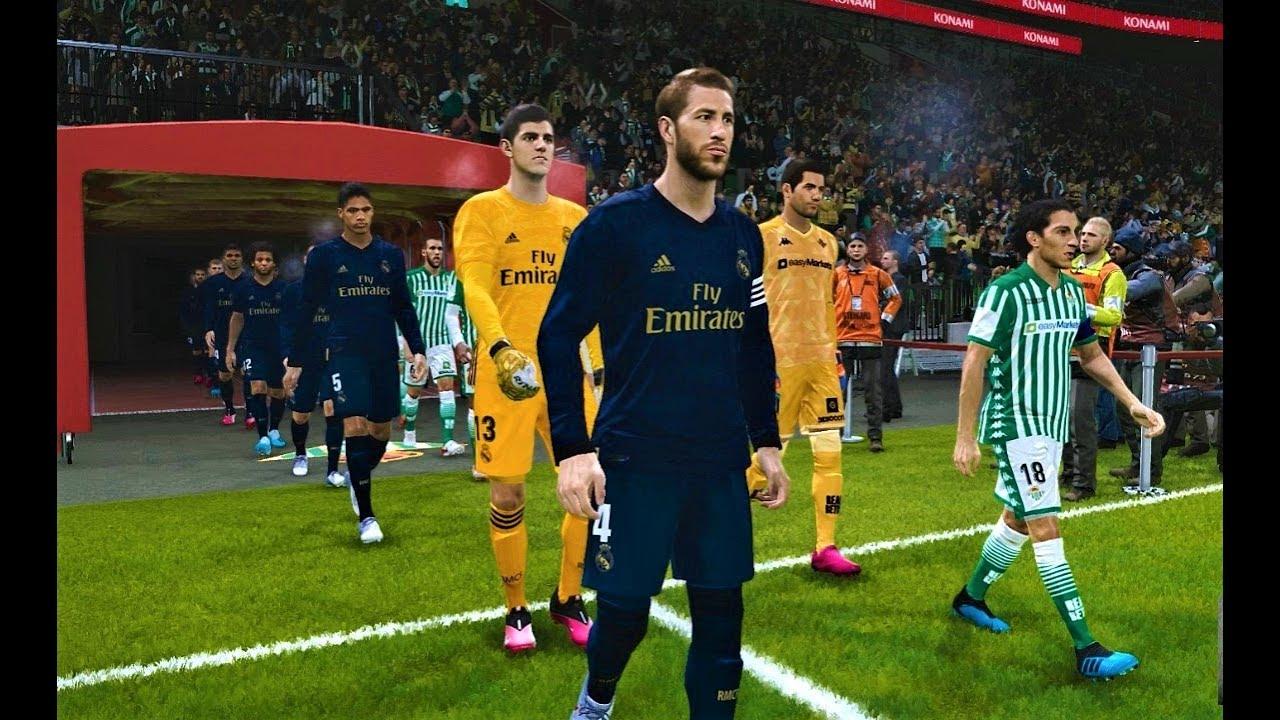 PES 2020 | Real Betis vs Real Madrid