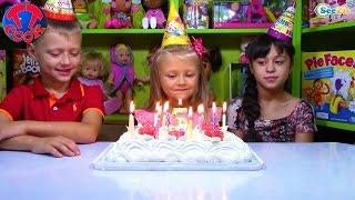 День Рождения Ярославы! Сюрпризы Хелло Китти Парк Развлечений Подарки для Детей Hello Kitty Toys