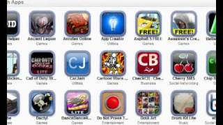 How to backup iPhone, iPod Touch and iPad applications!