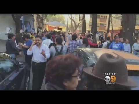 Magnitude-7.5 Earthquake Slams South, Central Mexico