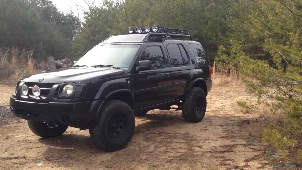 projectxterra lifted blacked out xterra winter 2014 update youtube