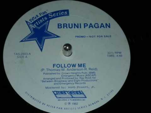Bruni Pagan, Follow Me (Funk Vinyl 1982) Full Version HD !