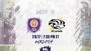 Orlando City II vs Pittsburgh Riverhounds full match