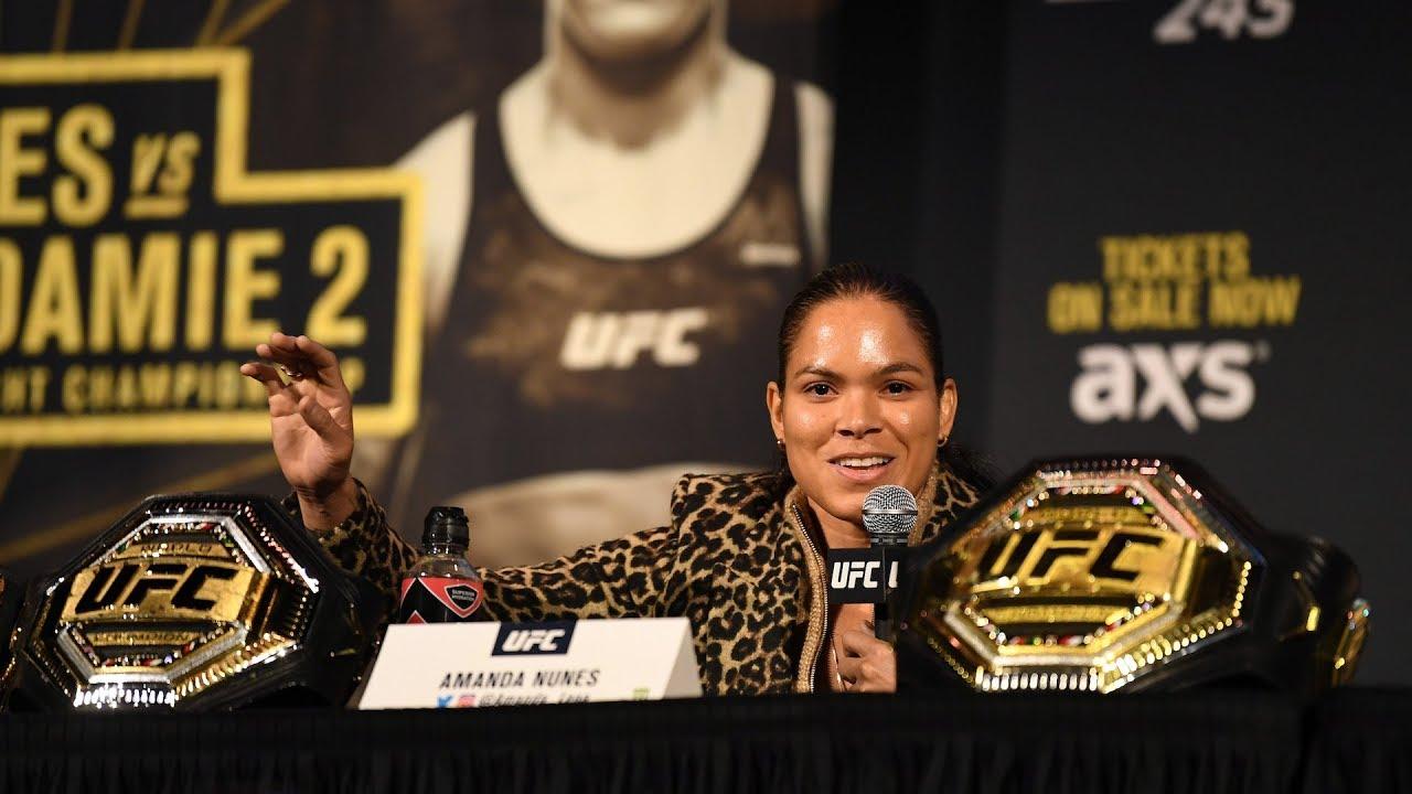 Video: UFC 250 Post-Fight Press Conference Live Stream Amanda ...