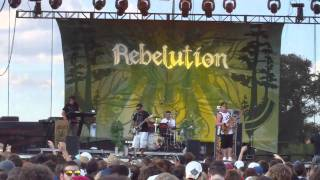 6 - Rebelution -  Life on the Line (New Song) - Austin City Limits 2010 - Day 3
