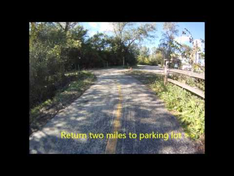 Trail View:  I&M Canal, Husar Trail in WillowSprings
