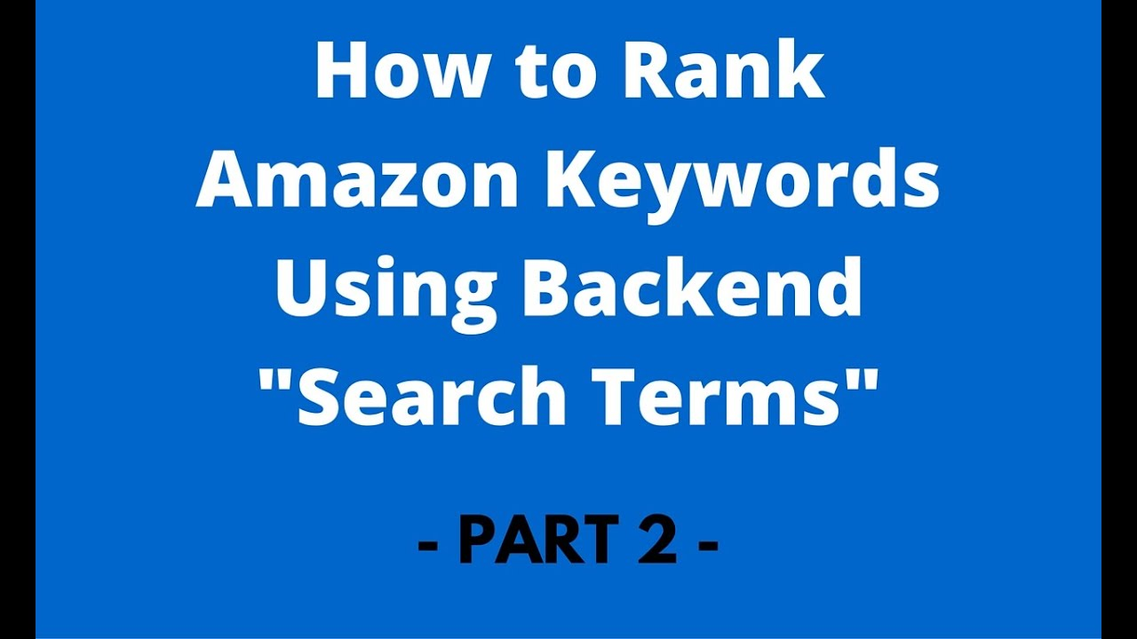 keywords on amazon