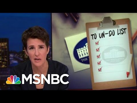 Trump Surprises With Outreach Abroad To Subvert US Intelligence | Rachel Maddow | MSNBC
