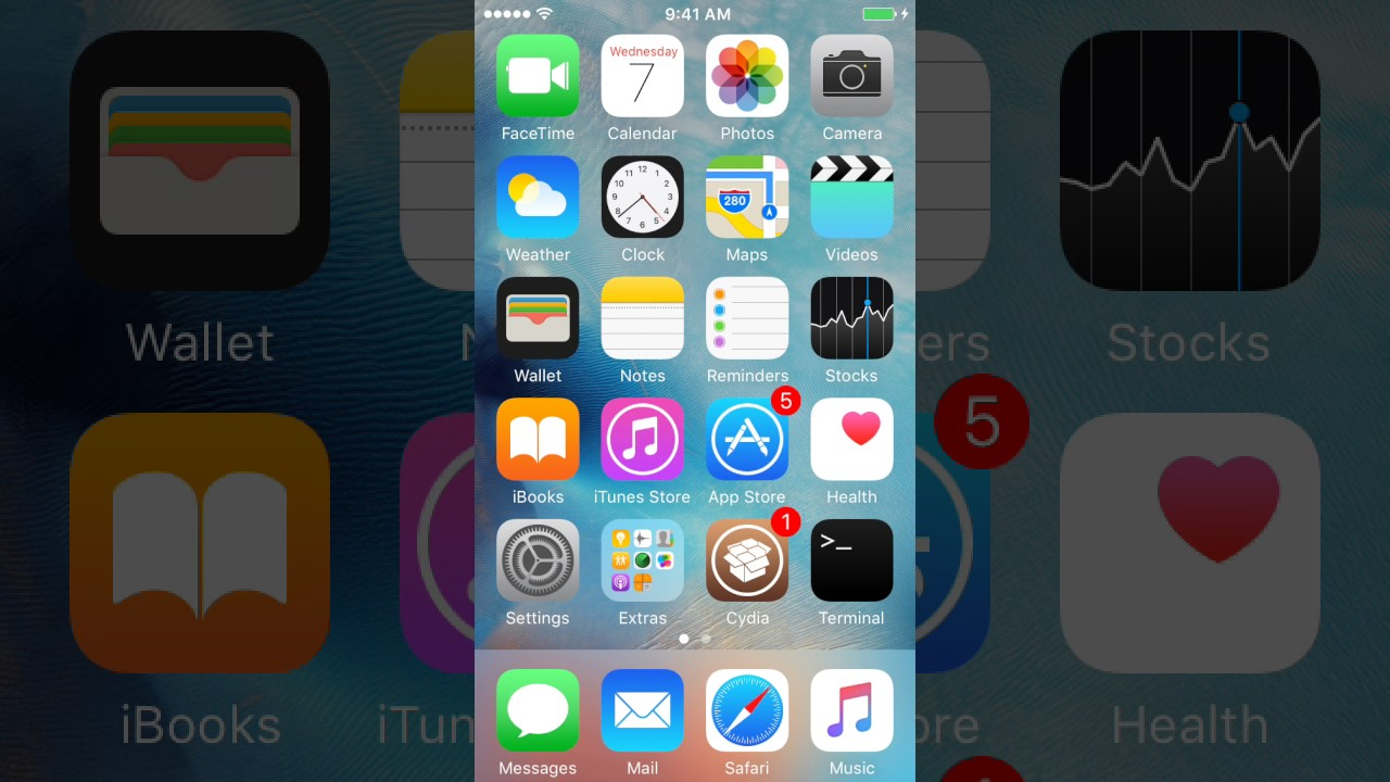 iOS 9 3 5 Jailbreak Demo with Cydia and MTerminal Functioning!