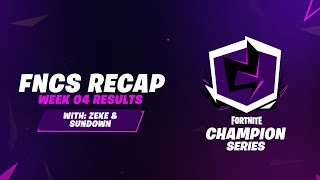 Fortnite Champion Series: Season X Week 4 Recap