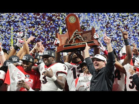 #6 Georgia Highlights Vs. #2 Auburn 2017 | SEC Championship