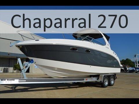Каютный катер Chaparral