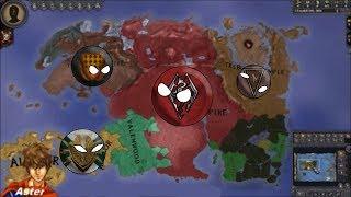 CK2 Elder Kings mod timelapse| 3370-4570