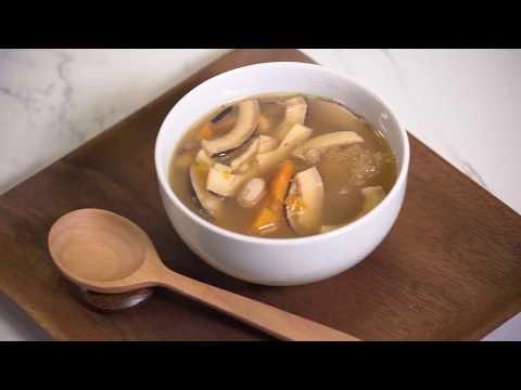 《素食教煮》第三十二集 ── 印度椰子腰果雪耳湯