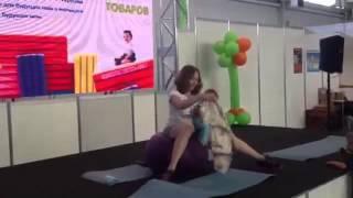 """Фитнес МК """"Мама+малыш"""", Савченко Любовь и ее сынок Тимофей 4 мес, часть 1"""