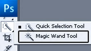 Photoshop Tutorial: Make Selection With the Magic Wand -HD-