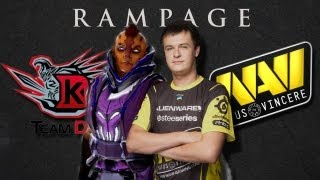 Rampage by XBOCT vs DK @ The International 2