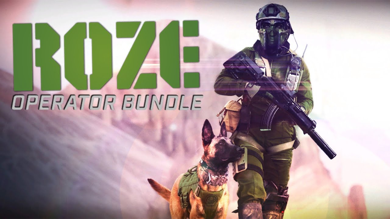 COD Modern Warfare: New Roze Operator Bundle
