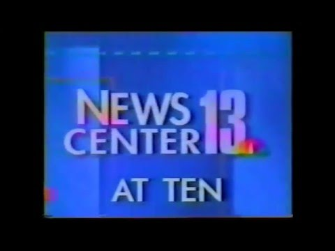 WEAU NewsCenter 13 10PM Open (1997)