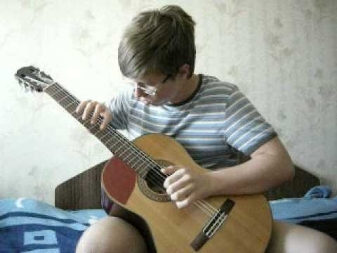 Preston Reed - Ladies Night (COVER on classical guitar)