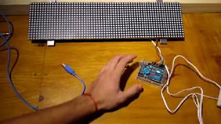 Matriz led 74hc245 + Arduino