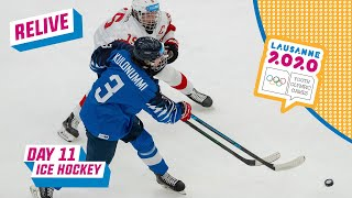LIVE - Ice Hockey - FINLAND - SWITZERLAND - Day 11 | Lausanne 2020