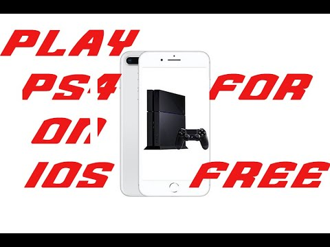 How to play PS4 with controller on IPhone easily for free with IOS 13