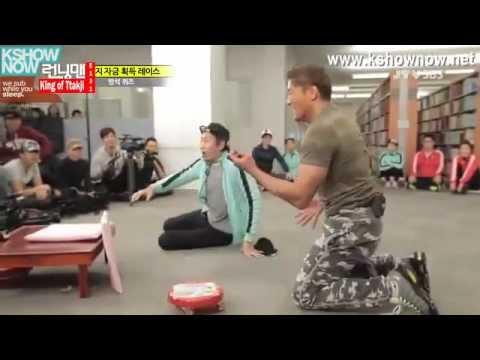 #6 Running Man Funny Moments - Choo Sung-hoon vs Kwangsoo
