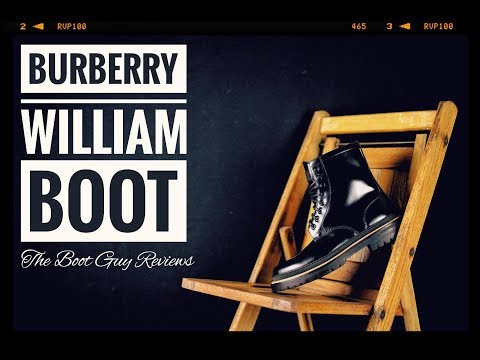 Burberry William Boot [ The Boot Guy Reviews ]