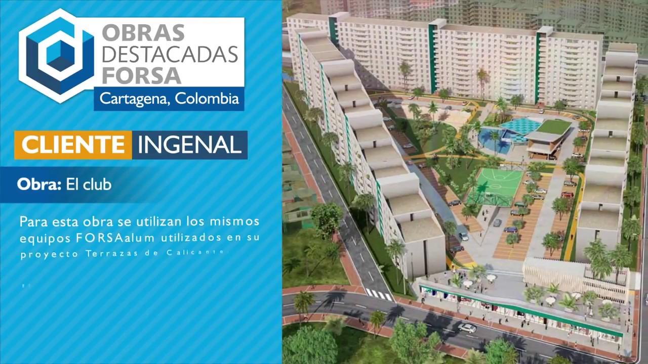 Obras Destacadas Terrazas De Calicanto Y El Club