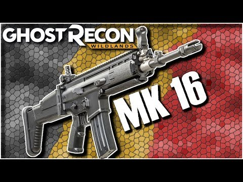 Ghost Recon Wildlands MK 16 vs MK 17 Test part 1