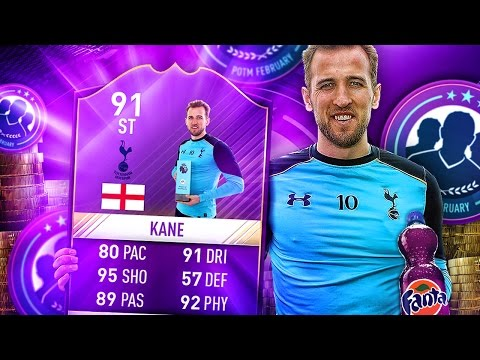 ONE HIT WONDER?! THE FASTEST HARRY KANE IN FIFA! 91 RATED POTM HARRY KANE! FIFA 17 ULTIMATE TEAM