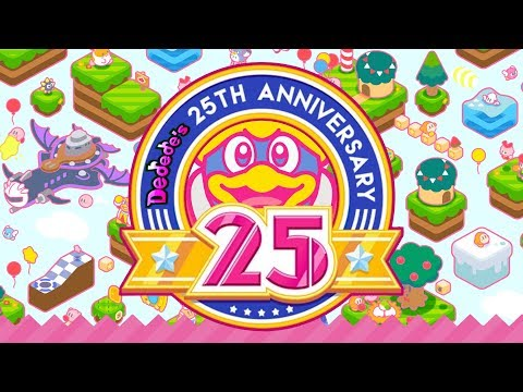 King Dedede's 25th Anniversary! (1992-2017)