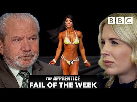 FAIL OF THE WEEK: Botched spray tan leaves Lord Sugar fuming | The Apprentice - BBC