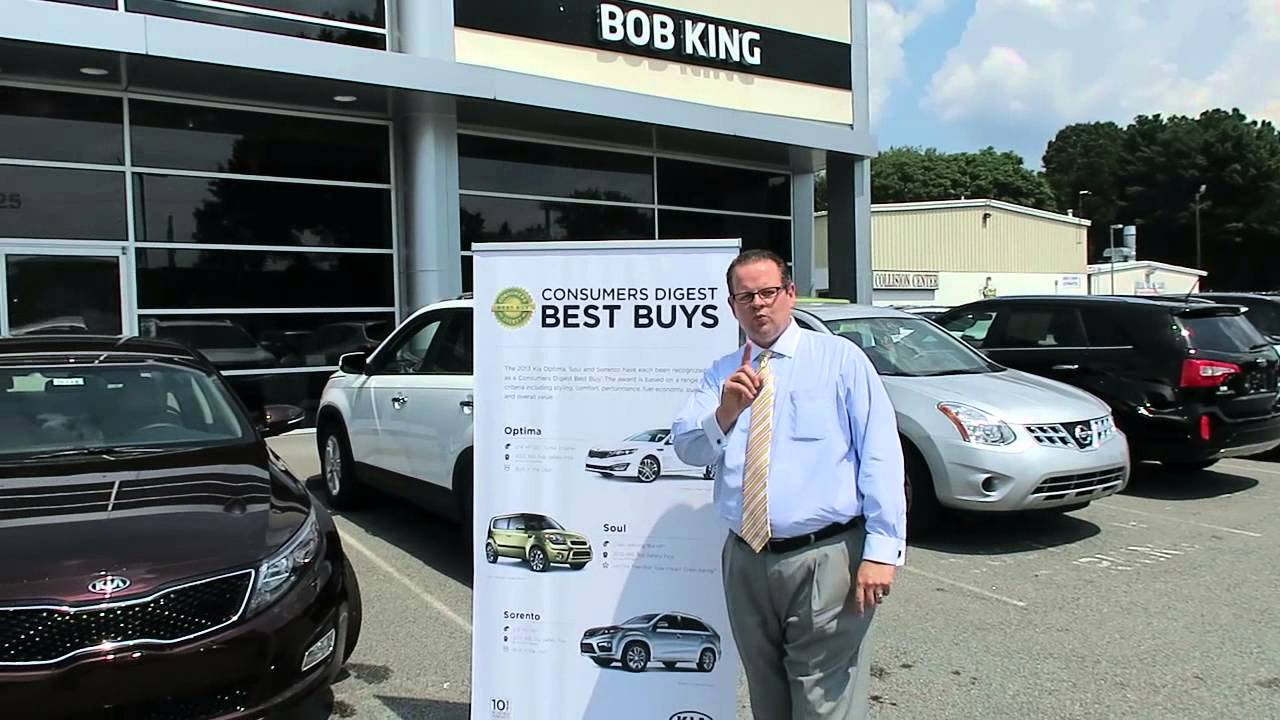 Bob King Kia >> Consumer Digest Best Buys At Bob King Kia Winston Salem Greensboro Nc
